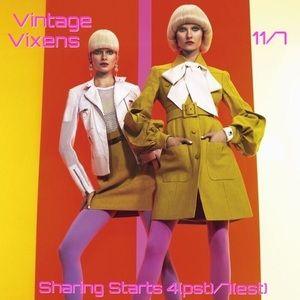 Accessories - SATURDAY 11/7 Vintage Vixens Sign Up Sheet